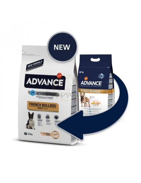 Advance Bulldog Francês Adulto Alimento Seco Cão