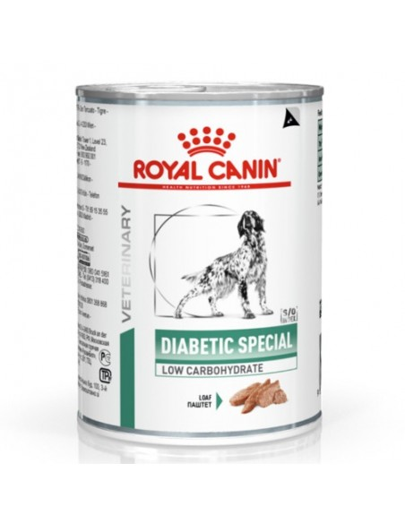 Royal Canin VD Diabetic Special Low Carbohydrate Alimento Húmido Cão