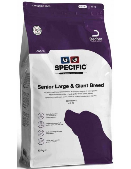 Specific CGD-XL Senior Large & Giant Breed 12 Kg Alimento Seco Cão