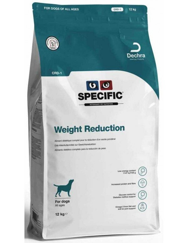 Specific VD CRD-1 Weight Reduction 12 Kg Alimento Seco Cão
