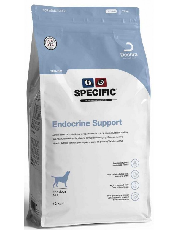 Specific VD CED Endocrine Support 12 Kg Alimento Seco Cão