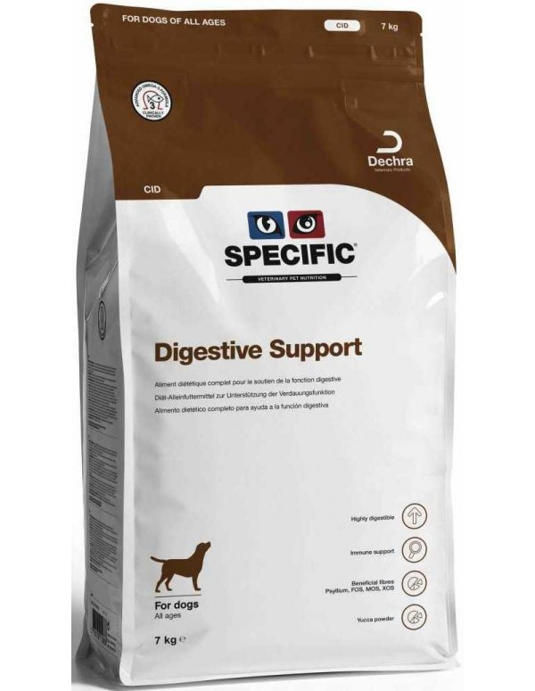Specific VD CID Digestive Support 7 Kg Alimento Seco Cão