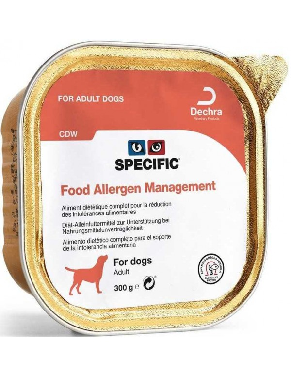 Specific VD CDW Food Allergy Management Alimento Humido Cão