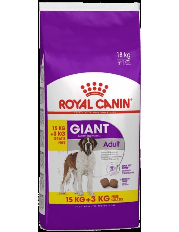 Royal Canin Giant Adulto 15+3 Kg