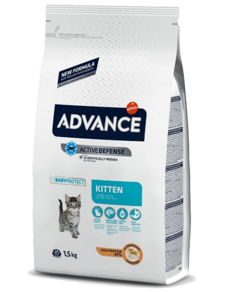 Advance Kitten Alimento Seco Gato
