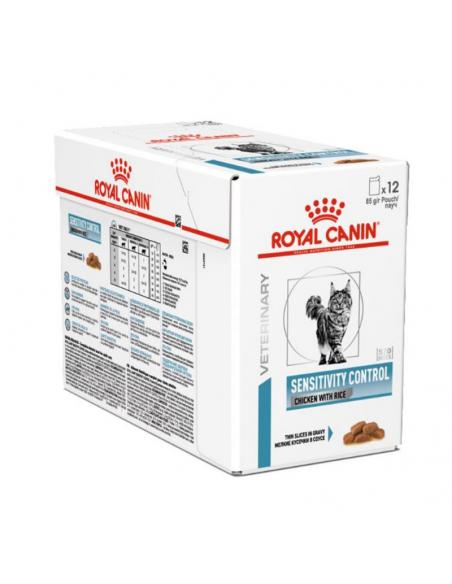 Royal Canin VD Sensitivity Control Frango Alimento Húmido Gato