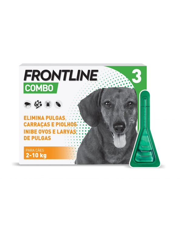 Frontline Combo Cães 2 a 10 Kg