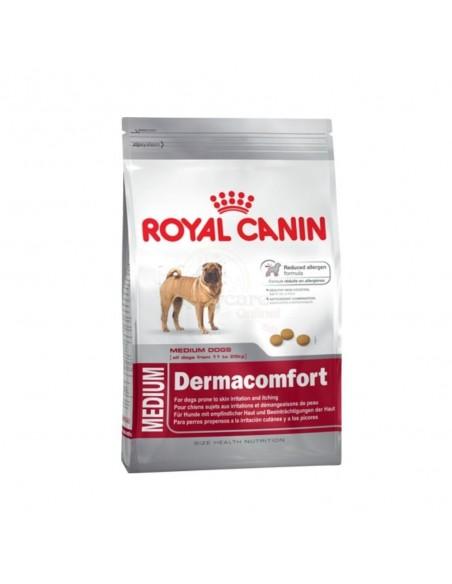 Royal Canin Size Health Nutrition Médium Dermacomfort Alimento Seco Cão