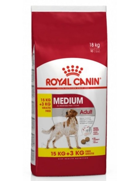 Royal Canin Size Health Nutrition Médium Adult Alimento Seco Cão