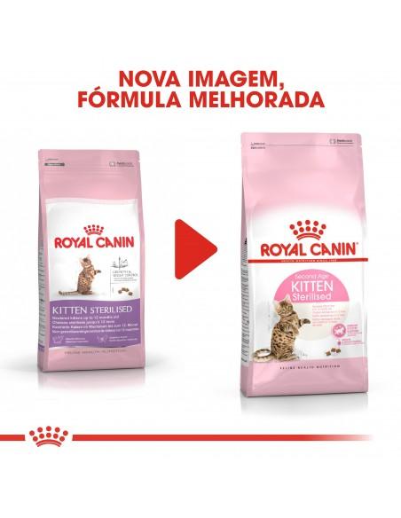 Royal Canin Feline Health Nutrition Kitten Sterilised Alimento Seco Gato