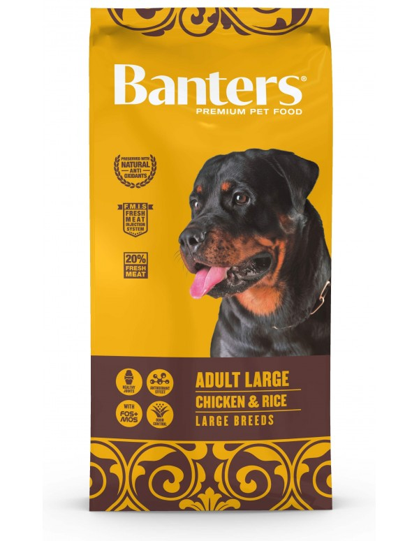 Banters Adulto Large Breed 15 Kg