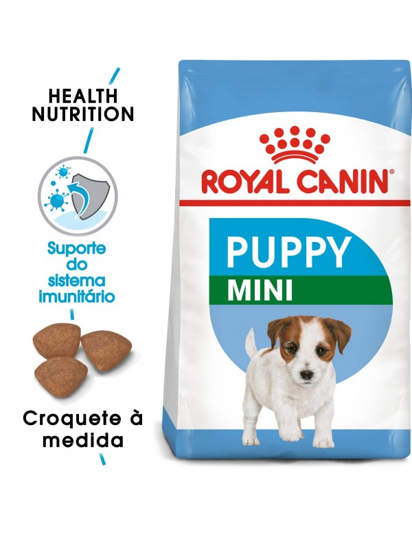 Royal Canin Size Health Nutrition Mini Puppy Alimento Seco Cão