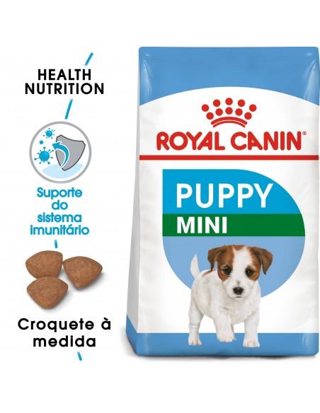 Royal Canin Size Health Nutrition Mini Puppy Alimento Seco Cão