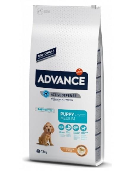 Advance Medio Puppy Alimento Seco Cão