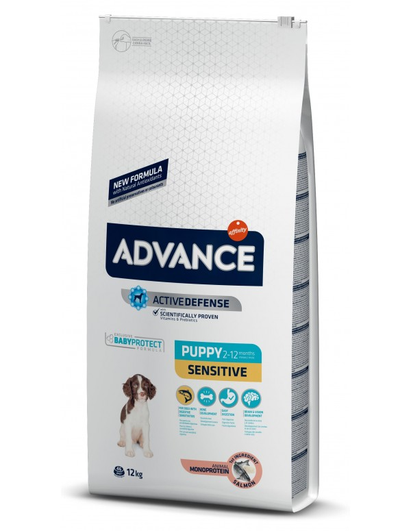 Advance Puppy Sensitive Alimento Seco Cão