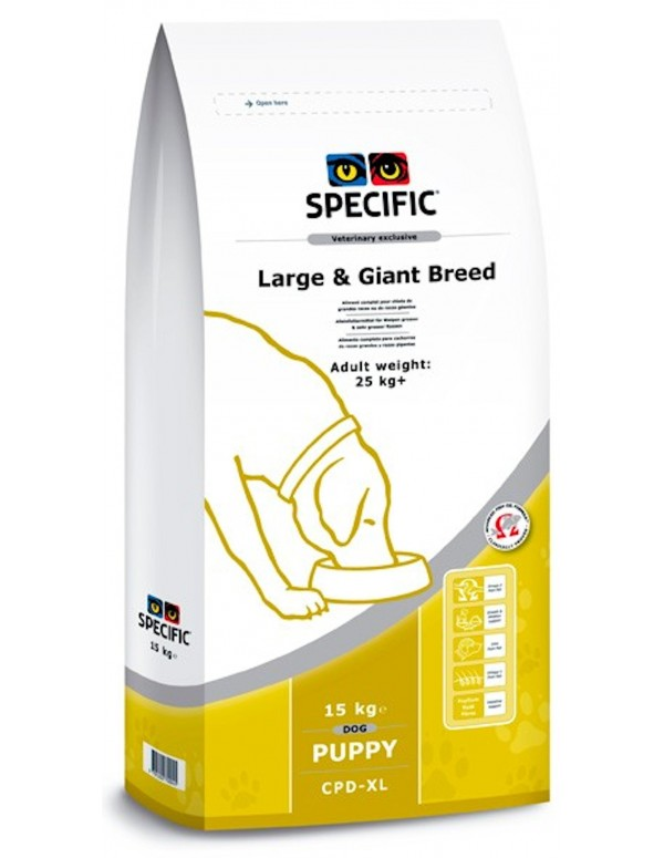 Specific CPD-XL Puppy Large & Giant Breed Alimento Seco Cão