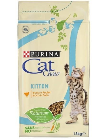 Cat Chow Gato Kitten Alimento Seco Gato