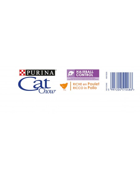 Cat Chow Hairball Alimento Seco Gato