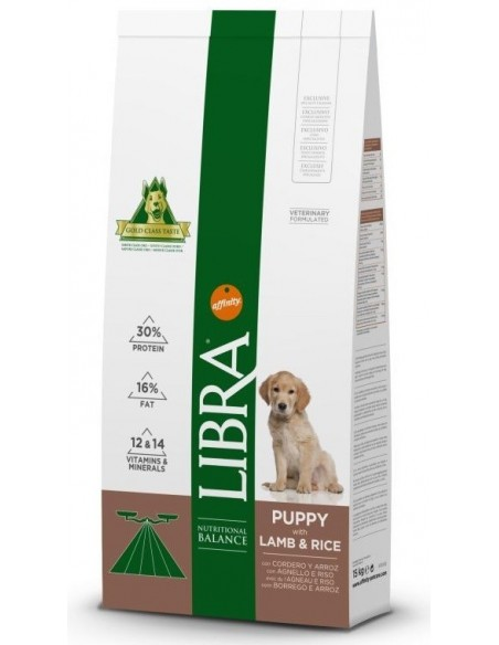 Libra Puppy Borrego Alimento Seco Cão