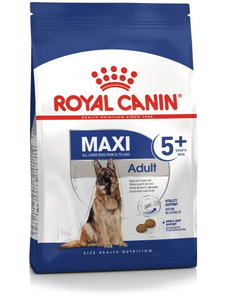 Royal Canin Size Health Nutrition Maxi Adult 5+ Alimento Seco Cão