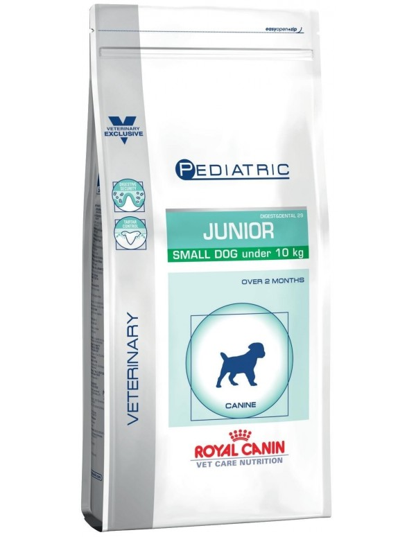 Royal Canin VCN Pediatric Junior Small Dog Alimento Seco Cão
