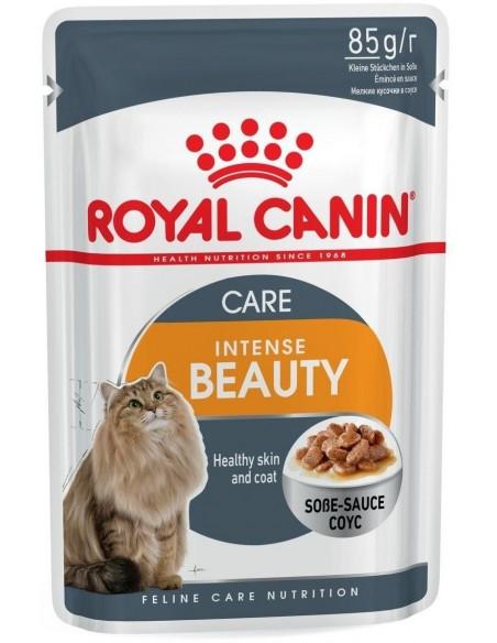 Royal Canin Intense Beauty Alimento Húmido Gato Saquetas (Molho)