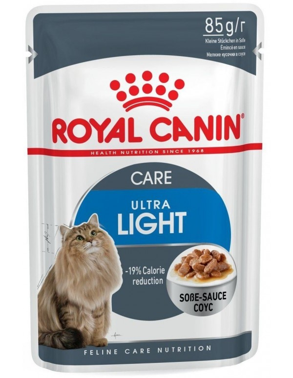 Royal Canin Ultra Light Alimento Húmido Gato Saquetas (Molho)