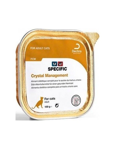 Specific VD FCW Crystal Management Alimento Humido Gato