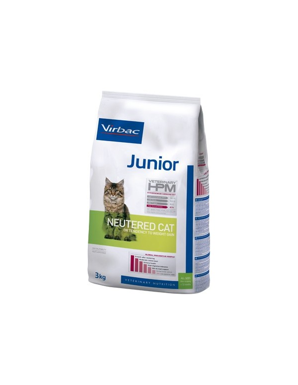 Virbac HPM Junior Neutered Cat Alimento Seco Gato