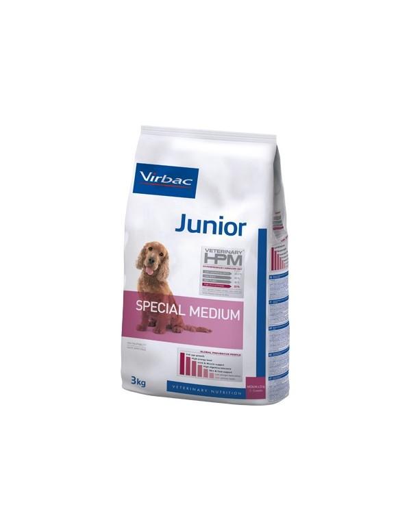 Virbac HPM Junior Dog Special Medium Alimento Seco Cão