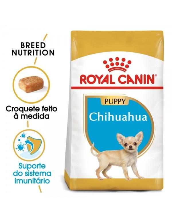 Royal Canin BHN Chihuahua Puppy Alimento Seco Cão
