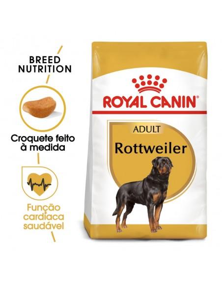 Royal Canin BHN Rottweiler Adult Alimento Seco Cão