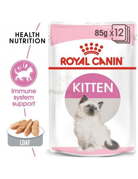 Royal Canin Kitten Instinctive Alimento Húmido Gato Saquetas (Paté)