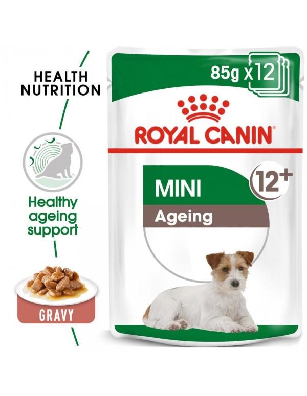 Royal Canin SHN Mini Ageing 12+ Alimento Húmido Cão